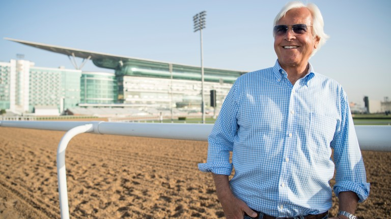 Bob Baffert: aims for back-to-back World Cup glory with West Coast and Mubtaahij