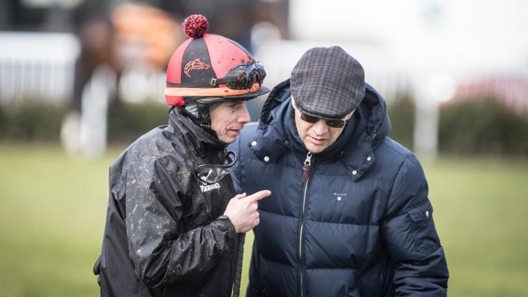 Battle plans: Ryan Moore and Aidan O'Brien discuss proceedings