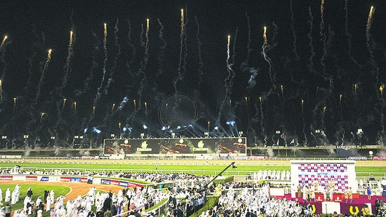Expect literal fireworks at Meydan on World Cup night