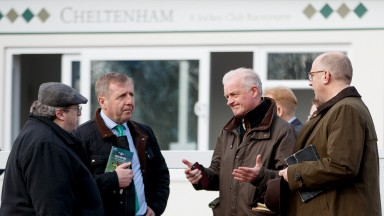 Brian Kavanagh, Michael Creed, Willie Mullins and Nick Rust discuss the possible effects of Brexit at Cheltenham