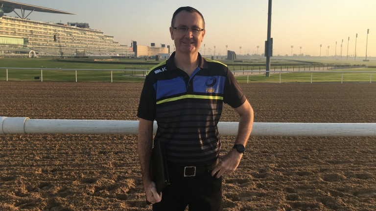 Craig Evans: commentates on Dubai World Cup night for the first time on Saturday