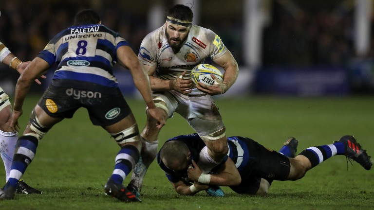 Expect another physical battle when Bath and Exeter clash