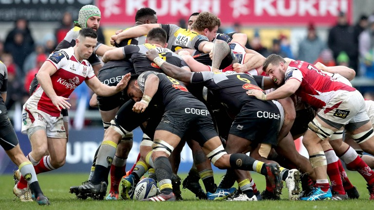 The La Rochelle pack  are a powerful unit