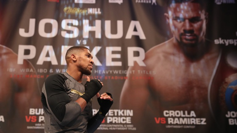 Anthony Joshua prepares for the challenge of Joseph Parker