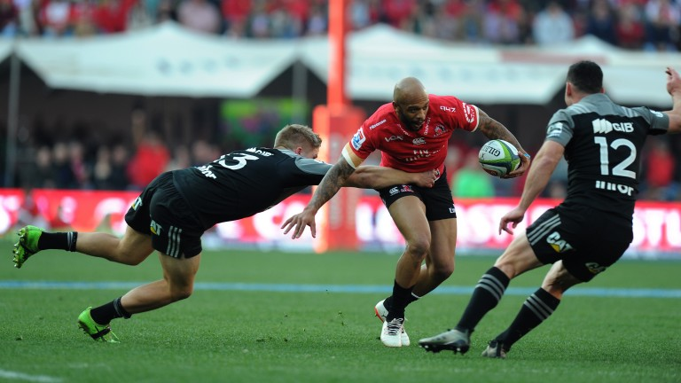 The Crusaders got the better of the Lions in the 2017 Super Rugby final