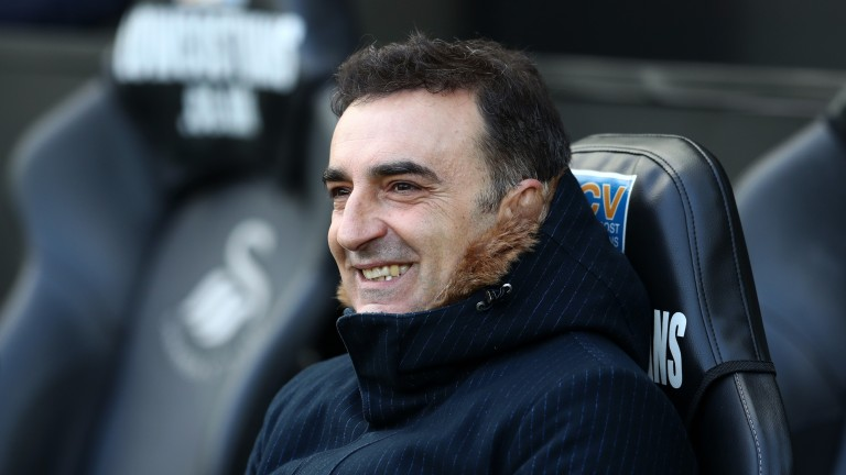 Swansea manager Carlos Carvalhal