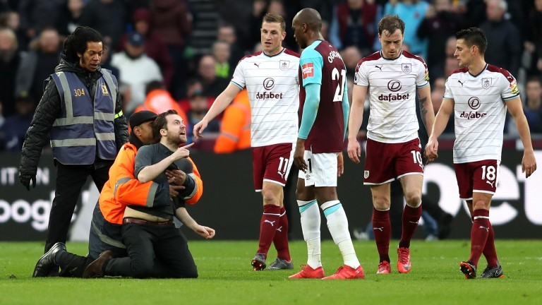It all kicked off at West Ham last time