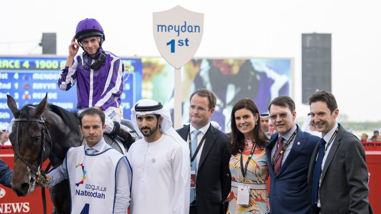 Ryan Moore returns victorious aboard Mendelssohn