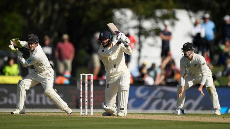 James Vince's 76 helped England to a significant lead over New Zealand