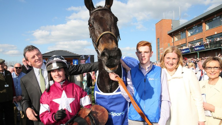 Thunder And Roses: the first of three Irish National heroes in four years for Gigginstown