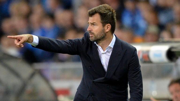 Club Brugge coach Ivan Leko