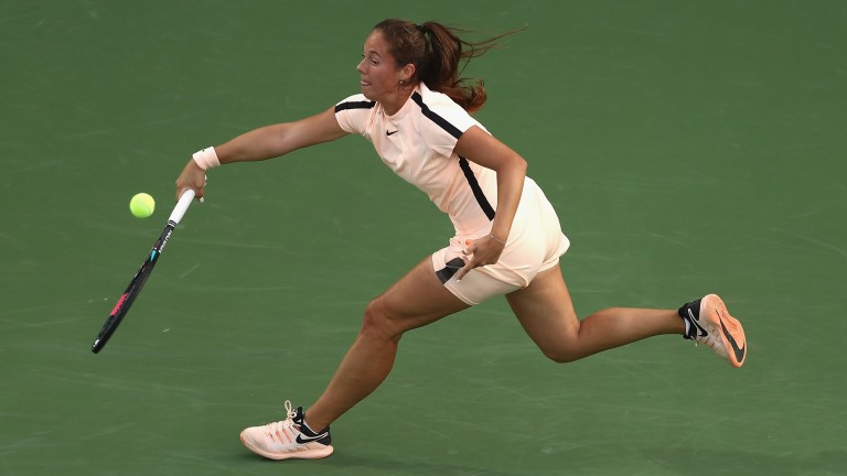 Daria Kasatkina made the final in Indian Wells