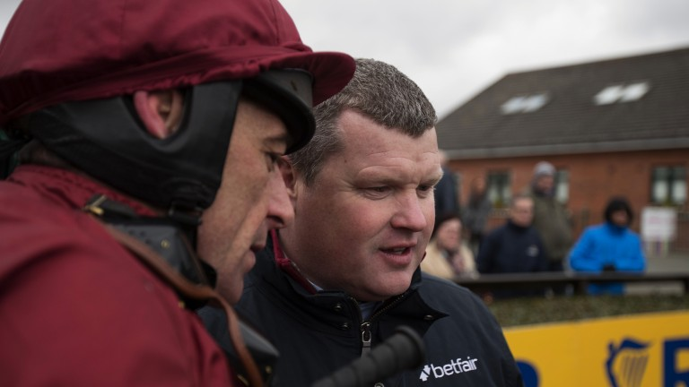 Davy Russell and Gordon Elliott, the Grand National-winning team, team up again at Fairyhouse