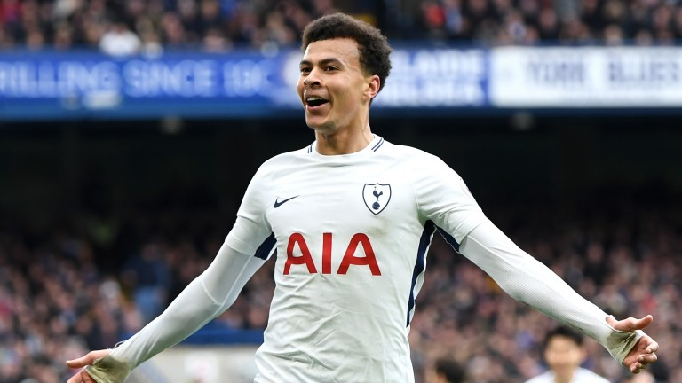 Dele Alli was at the double for Tottenham in their win over Chelsea