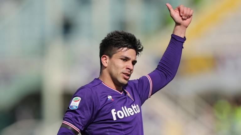 Fiorentina forward Giovanni Simeone