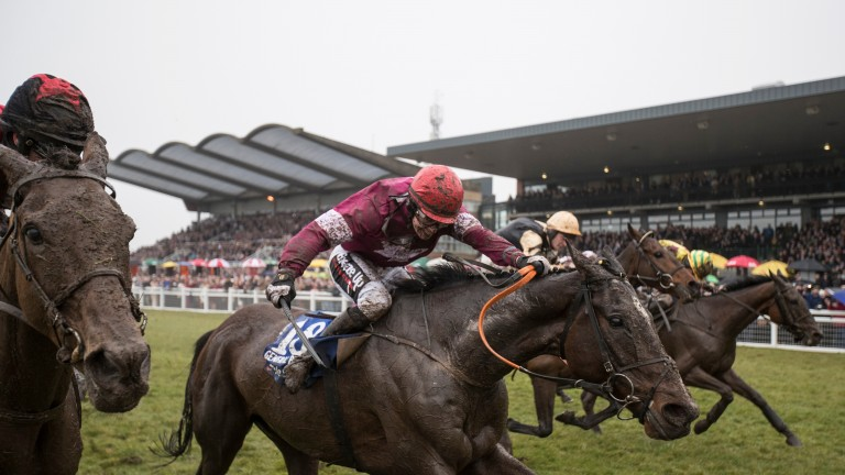 General Principle: digs deep to win a thrilling Boylesports Irish Grand National at Fairyhouse for Elliott and JJ Slevin last season