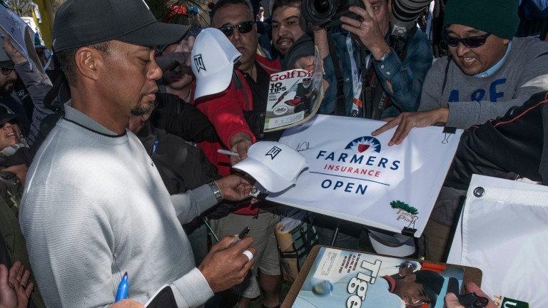 Tiger Woods has been thrilling his army of fans