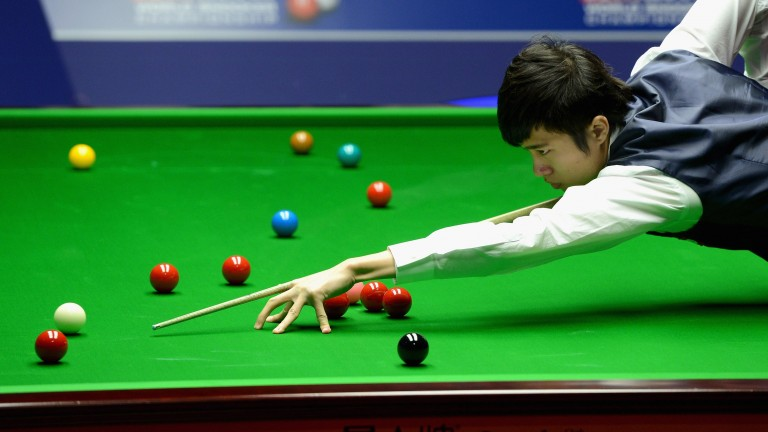 Cao Yupeng has one of the finest cue actions in snooker