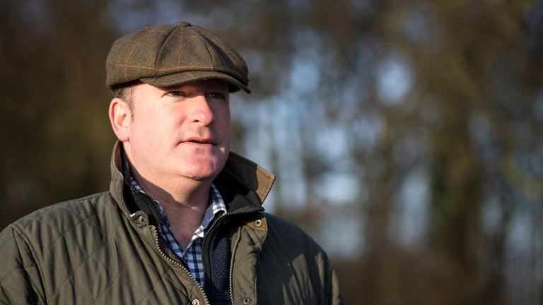 Ed Vaughan runs Hikmaa in the Group 3 Ballyogan Stakes at the Curragh