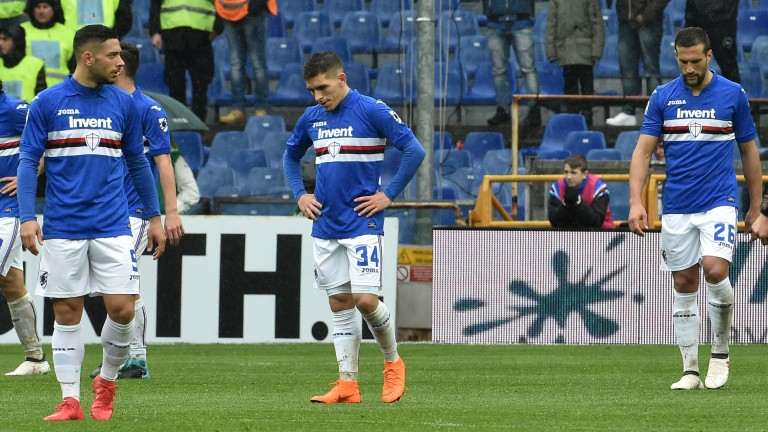 Sampdoria travel to Frosinone