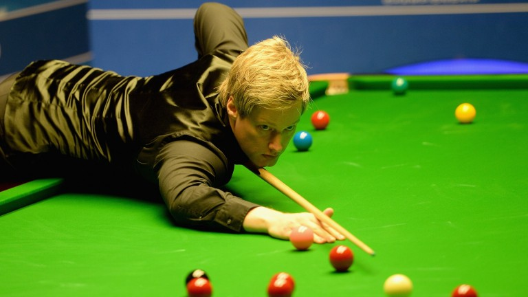 Neil Robertson is producing better with the Crucible a fortnight away