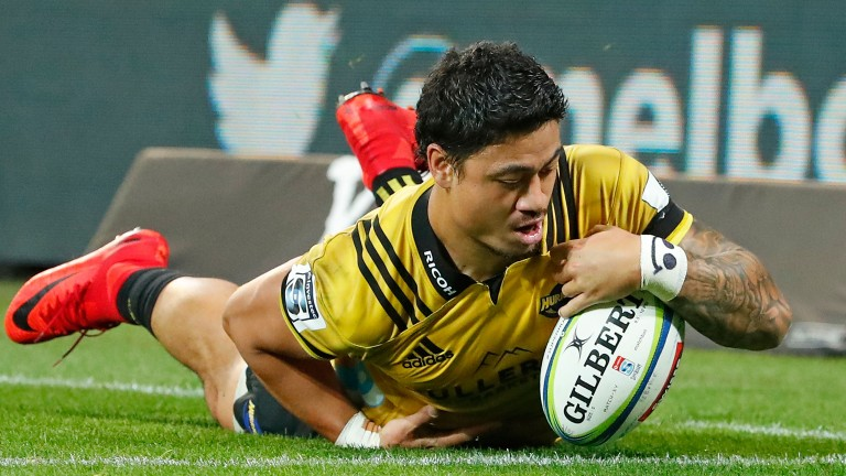 Ben Lam has scored two hat-tricks and 12 tries for the Hurricanes this season