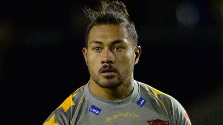 Salford ace Junior Sa'u is in the squad to face Leigh tonight