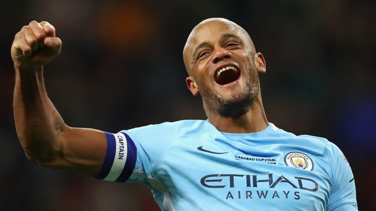 Vincent Kompany and his Man City teammates will be hoping to party
