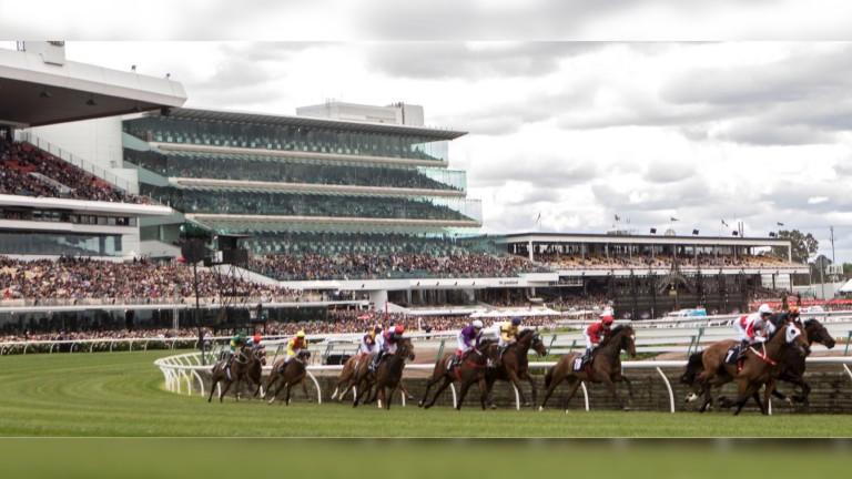 Flemington: where Steve Moran's mare Zazparella was runner-up
