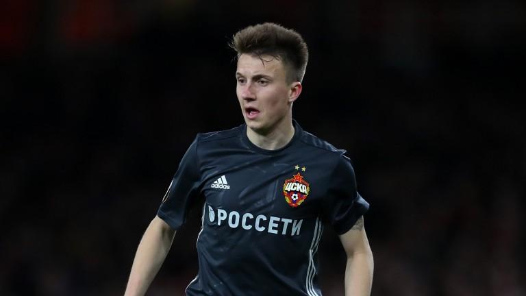 CSKA Moscow and Russian midfielder Aleksandr Golovin