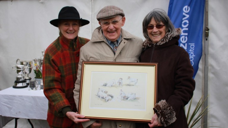 Stan Mellor: the former champion jockey served 18 years on the Old Berk Hunt point-to-point committee