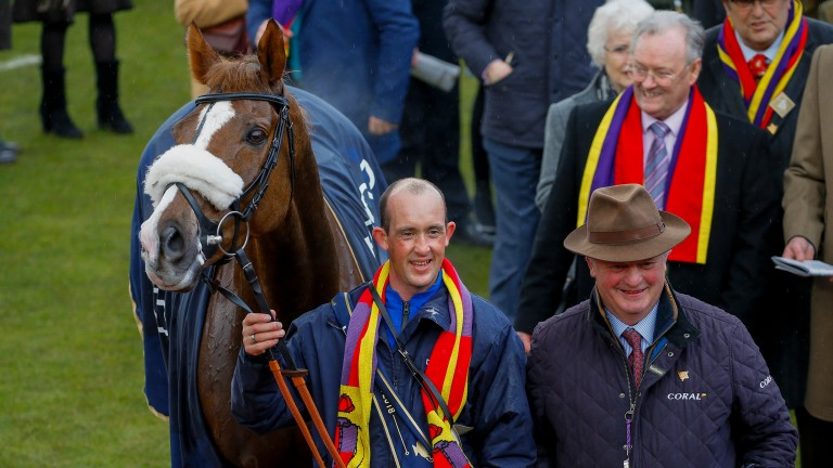 Colin Tizzard has already celebrated Gold Cup glory this season