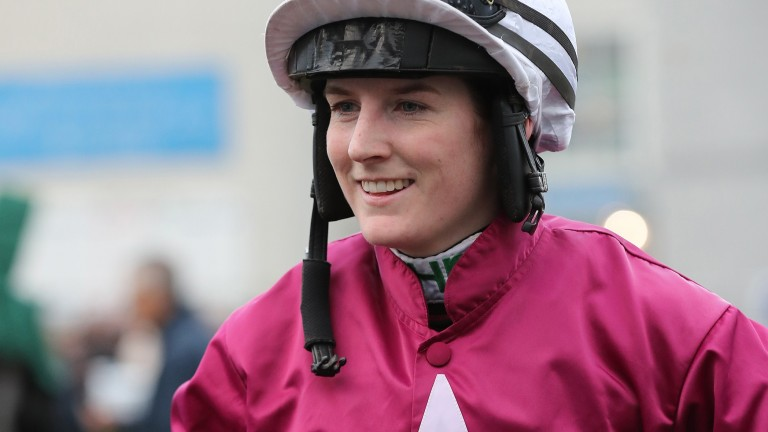 Rachael Blackmore: will ride Alpha Des Obeaux in the Grand National
