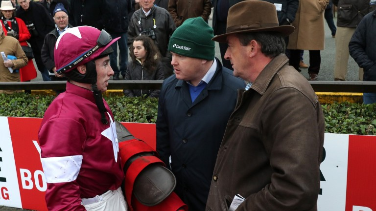 Eddie O'Leary (right): says Gigginstown would love to get Gordon Elliott over the line in the trainers' championship