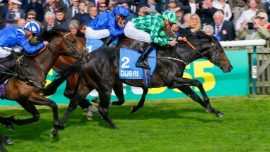 Abel Handy lands the Group 3 Cornwallis Stakes at Newmarket
