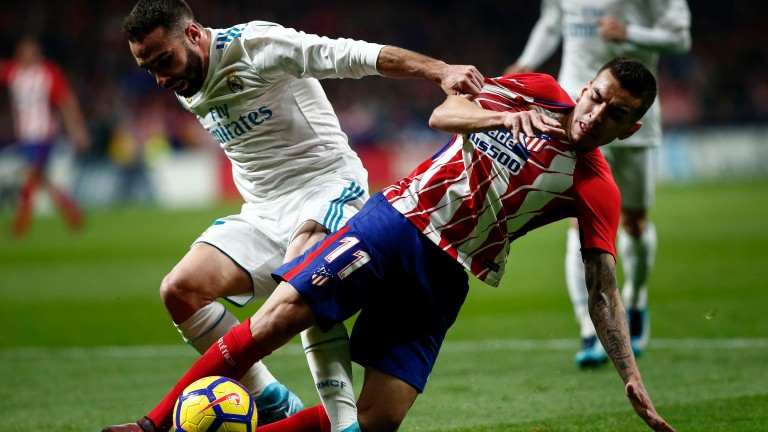It was 0-0 when Atletico Madrid amd Real Madrid met at the Wand