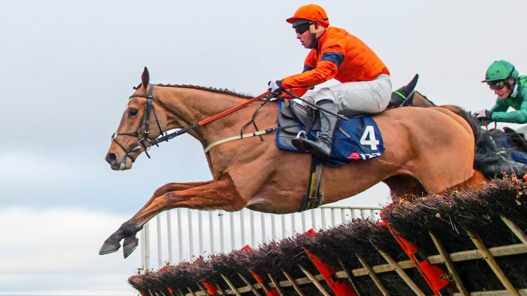 Sam Spinner did not show his best form at Cheltenham