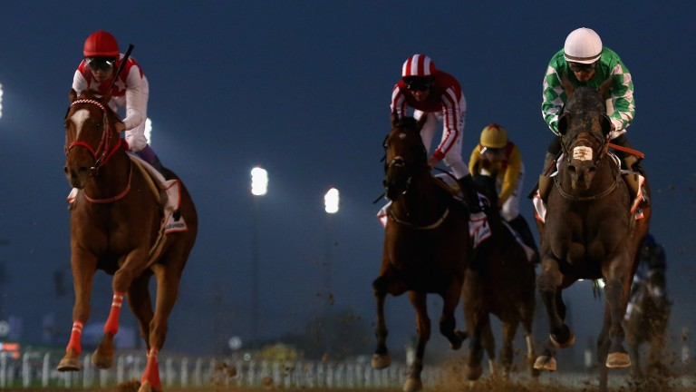 Meydan: currently stages premier race in the Middle East