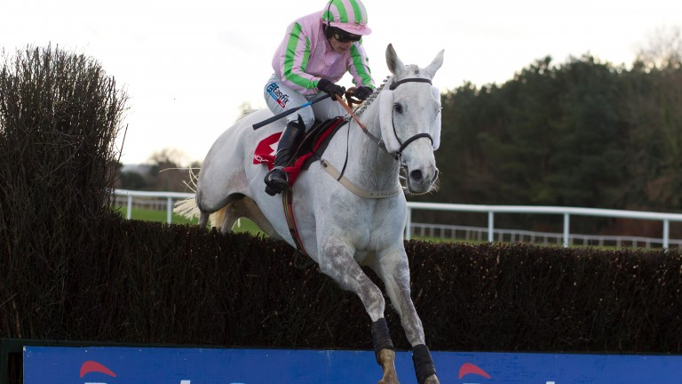 Baie Des Iles and Katie Walsh win the 2017 Grand National Trial at Punchestown