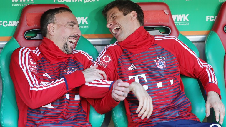 Bayern backers could be laughing all the way to the bank