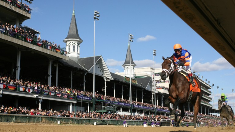 Uncle Mo - the half-brother to Could It Be Love - goes clear in the Breeders' Cup Juvenile