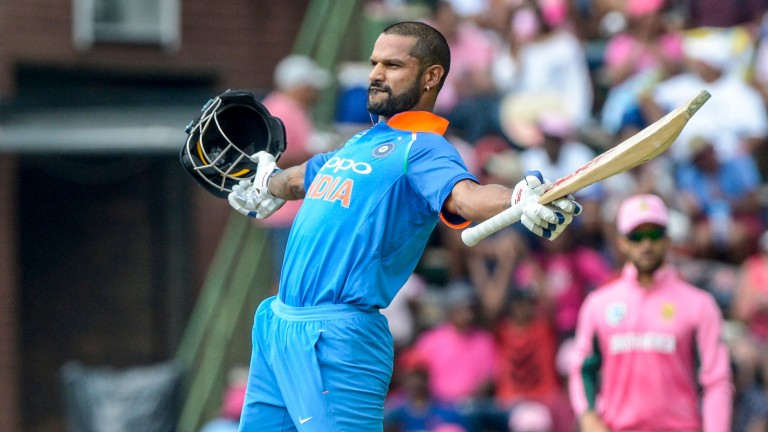 Shikhar Dhawan was Man of the Match against Rajasthan