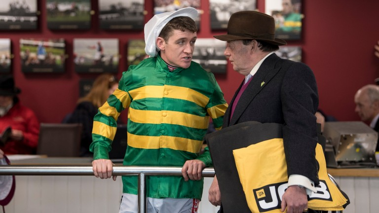 Nicky Henderson, expected by bookmakers to top the trainers' table at Aintree, and Barry Geraghty, who is second favourite to be top jockey