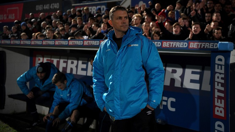 Macclesfield manager John Askey will be keen to wrap up his side return to League Two