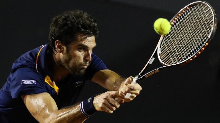 Pablo Andujar competed in the Golden clay swing in Rio recently