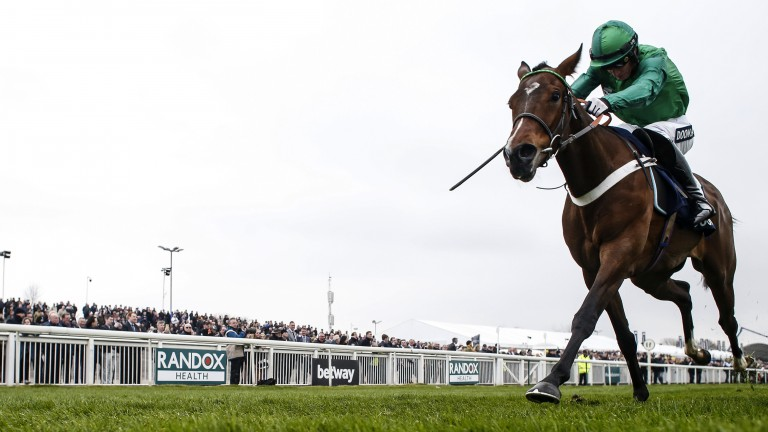 Pictures of the day: Aintree We have a winner: Cheltenham's loss is Aintree's gain as We Have A Dream, who missed the festival, records an impressive victory in the Anniversary 4-Y-O Hurdle
