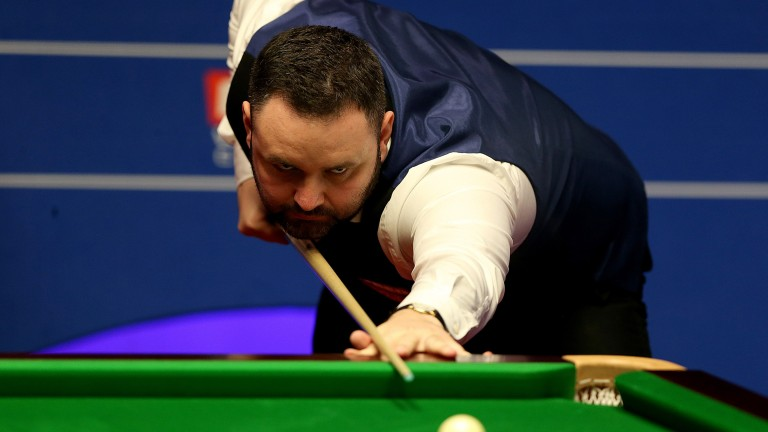Stephen Maguire reached the quarter-finals at the Crucible in 2017