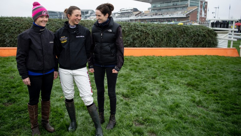 Katie Walsh, Bryony Frost and Rachael Blackmore could make history in the Grand National