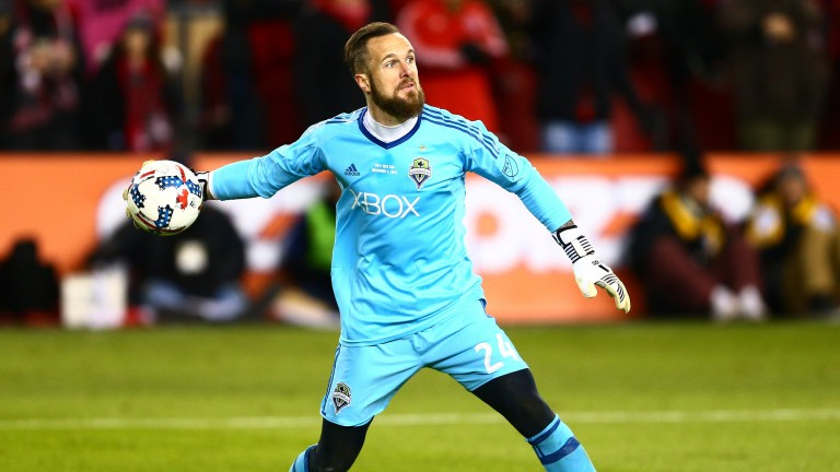 Seattle Sounders goalkeeper Stefan Frei