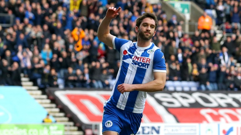 Wigan forward Will Grigg